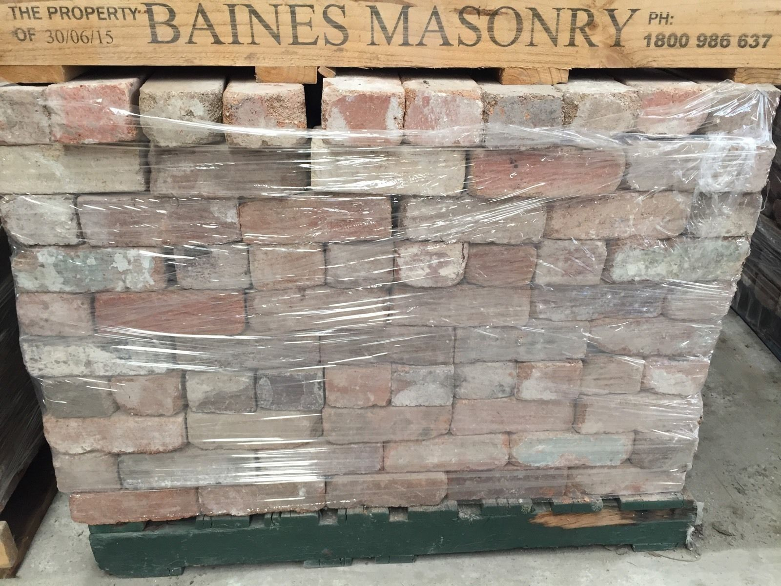 Recycled Bricks Price Per 1000 Delivery Available Paving