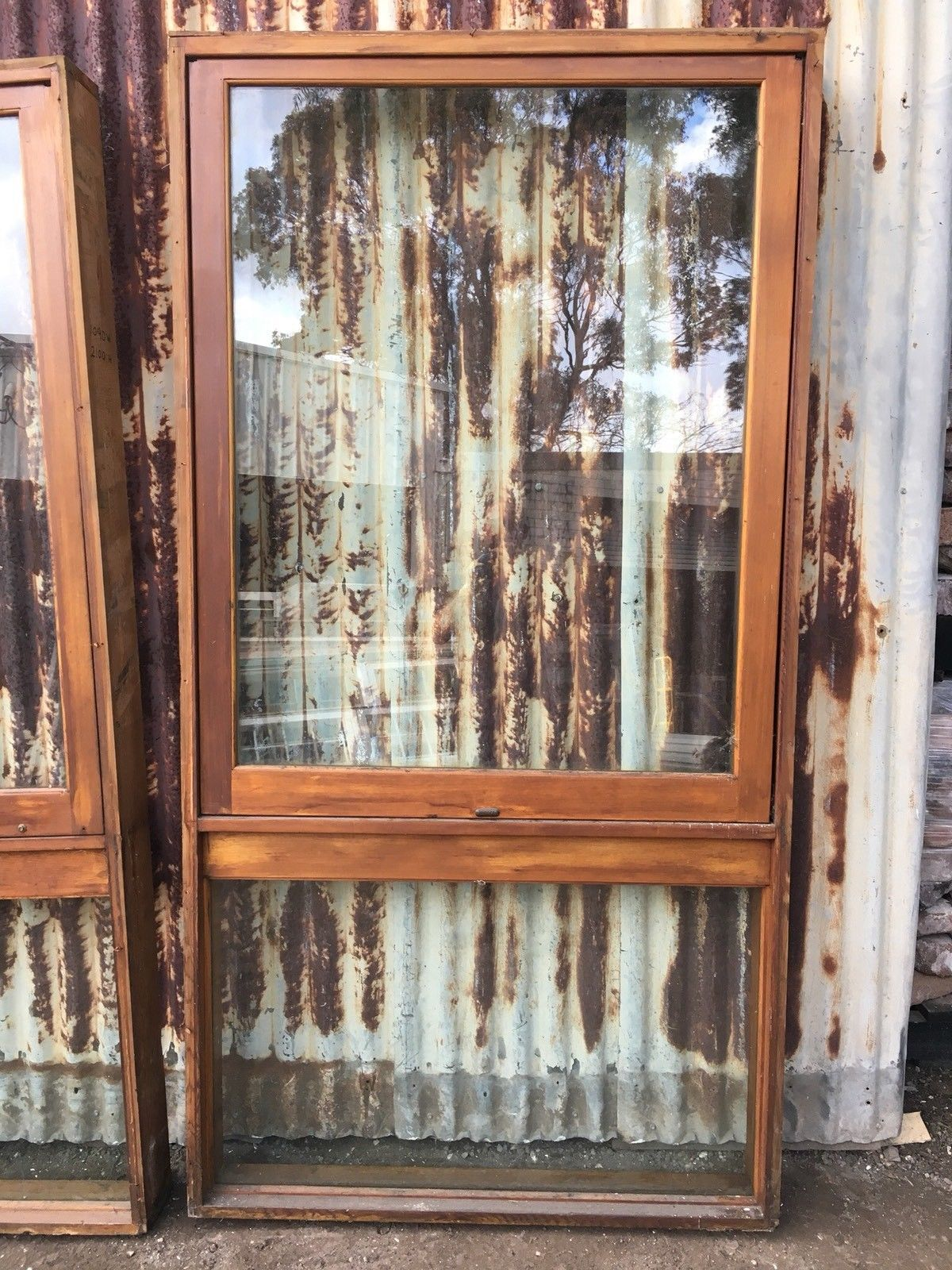 Stegbar Timber Awning Window With Thick Glass 1090w X ...
