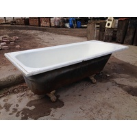 Cast Iron Claw Foot Bathtub 740w X 1680l X 560h